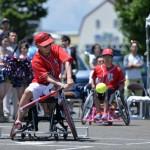 北海道千歳市で開催された、第3回全日本車いすソフトボール選手権