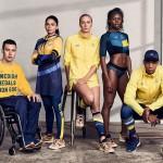 様々なパラスポーツに取り組むアスリートたちの集合写真。情報にもバリアフリーを。障がい者とその関係者のコミュニティ、情報サイト。ナレバリ