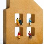 発達障害を持つ家族が仲良く暮らす様子をイメージ化。情報にもバリアフリーを。障がい者とその関係者のコミュニティ、情報サイト。