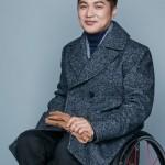 HEARTIST 19FW メンズ ダブル ウール コート 車椅子1
