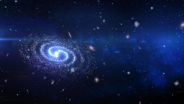 スティーブンホーキング博士が解明の研究にいそしんだブラックホールをイメージした宇宙の画像。情報にもバリアフリーを。障がい者とその関係者のコミュニティ、情報サイト。ナレバリ