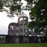 日本における終戦の象徴であり戦争を二度と起こさないことへの誓いも寄せられる世界遺産の候補である原爆ドームの画像。情報にもバリアフリーを。障がい者とその関係者のコミュニティ、情報サイト。ナレバリ