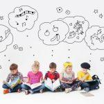 様々な夢を描く子供たちの想像をイメージにした画像。情報にもバリアフリーを。障がい者とその関係者のコミュニティ、情報サイト。ナレバリ